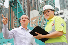 MTR - recruitment in construction sector