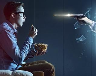 電視也立體  3D-TV