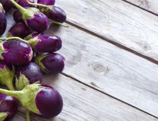 紫色的蔬菜