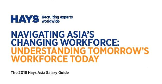 The 2018 Hays Asia Salary Guide