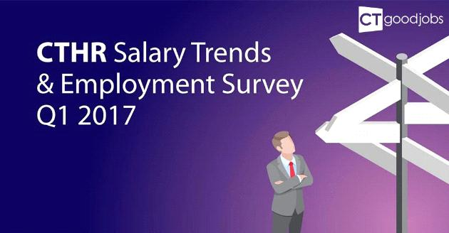CTHR Salary Trends & Employment Survey 2017Q1