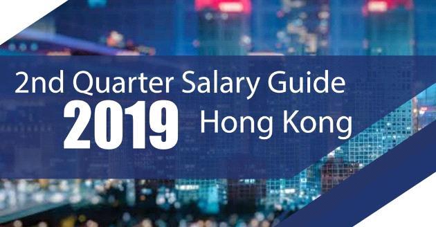 2nd Quarter Salary Guide 2019 Hong Kong