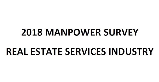 Real Estate Services Industry Manpower Survey Report 2018