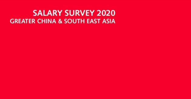 Salary Survey 2020 Greater China & South East Asia