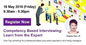【HR Workshop】Competency Based Interviewing: Learn from the Expert Virginia Choi, JP